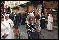 Talking on the cell phone. Jerusalem