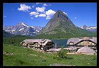 Many Glacier Lake Hotel.  Glacier National Park (Montana)